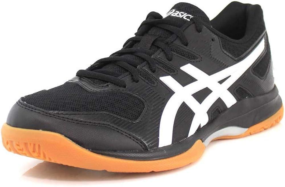 [ASICS] Gel-Rocket 9 Men's Volleyball Shoes, 黒/白い, 12 M US