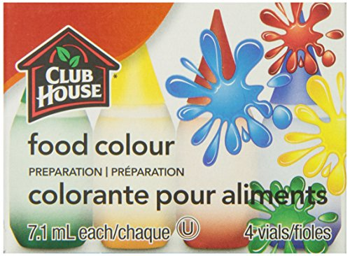 Club House, Food Colour Preparation, Original, 4 Count