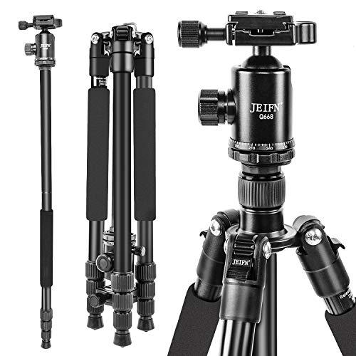 JEIFN Q668 Camera Tripod, 63.7