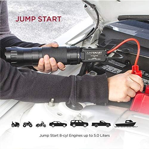 Ba30DEllylelly 30000mAh Portable Car Jump Starter Pack Booster Cargador LED Bater/ía Banco de energ/ía Fuente de alimentaci/ón de Arranque de Emergencia port/átil