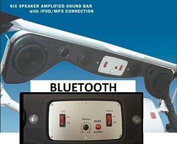 Amazon.com: New Model Bluetooth Jeep Wrangler Cj Tj Yj Soundbar Will