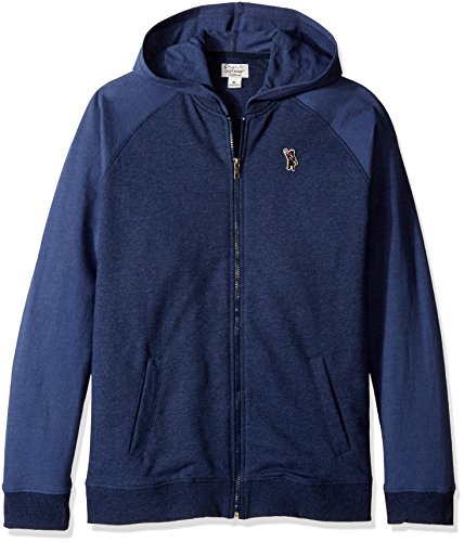 Lucky Brand Toddler Boys' French Terry Varsity Jacket, Mood Indigo, 2T by Lucky Brand