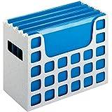 "2 x Pendaflex Decoflex Desktop File, 9 1/2"" H x 12 1/4"" W x 6"" D, Granite (23054)"