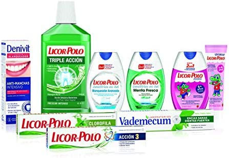 Licor del Polo - Dentífrico Anticaries - 75ml: Amazon.es: Salud y ...