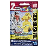 Transformers Toys Cyberverse Tiny Turbo Changers Series 2 Blind Bag Action Figures - for Kids Ages 5 & Up, 1.5', Brown
