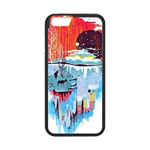 iPhone 6 Plus 5.5 Inch Cell Phone Case Black MIDDLE OF NOWHERE Gmwcu