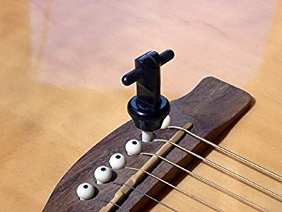 Snapz Acoustic Guitar Bridge Pin Puller by BIGROCK INNOVATIONS LLC