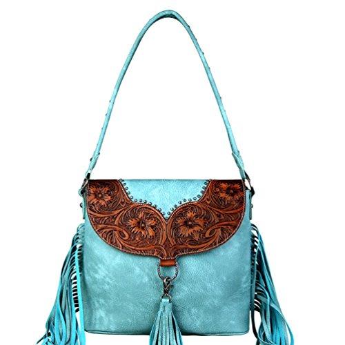 Zouvo New Fashion Women PU Fluff Ball Shoulder Bag Satchel Hobos Handbag Tote Purse