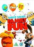 Dr Seuss' The Lorax / Despicable Me / Hop (Triple Pack) [DVD]