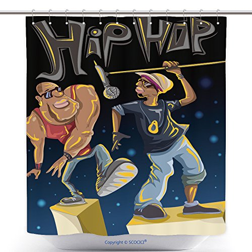 Costumes Hip Hop Ebay (Custom Shower Curtains Hip Hop Art Characters Band Event Vector Art 336754526 Polyester Bathroom Shower Curtain Set With)