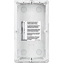 350020 - lt terraneo (bticino) caja posterior 2 módulos