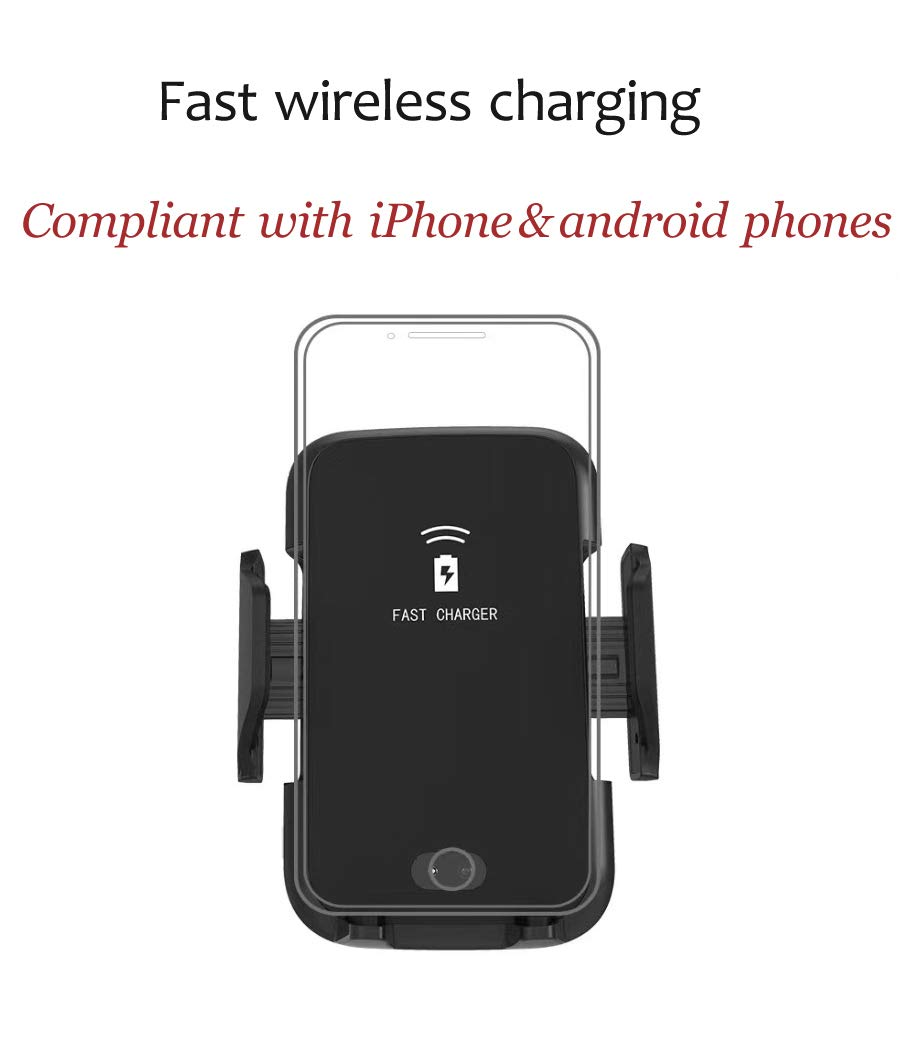 HASESS Wireless Car Charger 10W Qi Fast Charging Wireless Car Mount Air Vent Phone Holder Infrared/&Touch Sensing Fast Car Charger for iPhone XS//Max//XR//X//8//8 Plus Samsung Galaxy S9//S9+,S8//S8+,Note 8