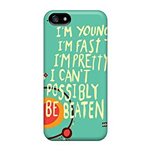 High Quality Shock Absorbing Case For Iphone 5/5s-im Invincible