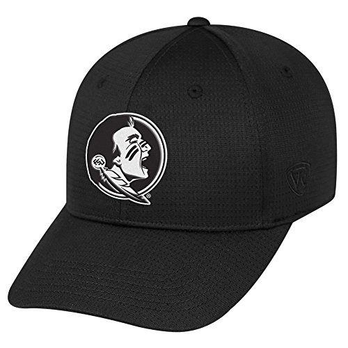rida State Seminoles Official NCAA One Fit Parallax Hat 088822 (Stretch Top Hat)