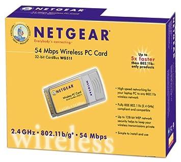 NETGEAR CARDBUS WG511 DRIVERS WINDOWS XP