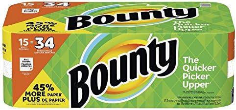 Bounty toallas de papel 15 Enormes rollos: Amazon.es: Salud y cuidado personal