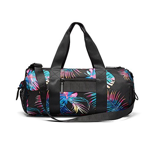 Victoria's Secret PINK Bungee Pocket Duffle Bag, Tropical Print