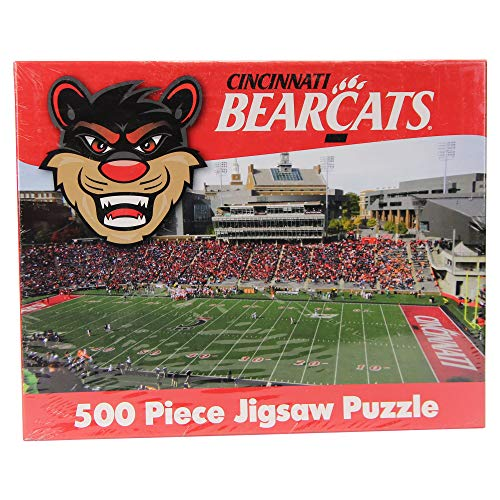 (R and R Imports NCAA College Stadium Games Jigsaw Puzzle 500 Piece (Cincinnati Bearcats))
