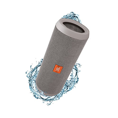 JBL JBLFLIP3GRAY Flip 3 Splashproof Portable Bluetooth Speaker, Gray