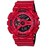 G-Shock GA-110LP - Military Perf Band - Red / One Size