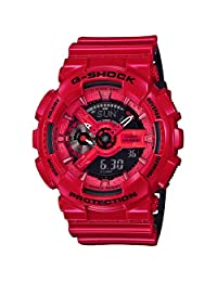 Casio G-Shock GA110LPA-4A - Military Perf Band - Red / One Size