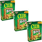 Keebler Club Snack Crackers (Peanut Butter, Pack of 3)