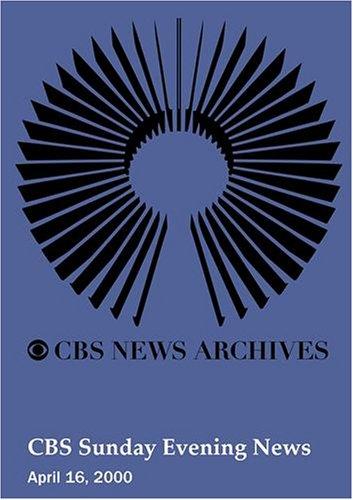 UPC 883629035413, CBS Sunday Evening News (April 16, 2000)