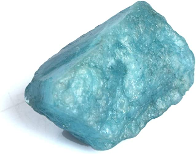 Amazon.com: Genuine Rough Blue Aquamarine 17.50 Ct Natural Uncut Rough  Certified Raw Rare Aquamarine Crystal Stone DT-461: Jewelry