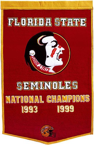 Florida State Seminoles Dynasty Banner - NCAA Licensed - Florida State Seminoles Collectibles