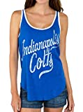 Junk Food NFL Indianapolis Colts Liberty Blue Juniors Tank Top