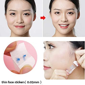 Genoeg Amazon.com : Face Lifting Patch Invisible Artifact Sticker Lift &JC07