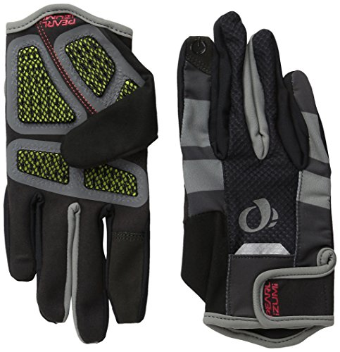 (Pearl Izumi - Ride Men's Pro Gel Vent Full Finger Gloves, Black,)