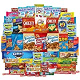 Snacks Care Package - Chips, Cookies, Candy Assortment Bundle Gift Pack and Variety Box (50 Count)