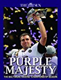 img - for Purple Majesty - Baltimore Ravens Super Bowl Champions book / textbook / text book