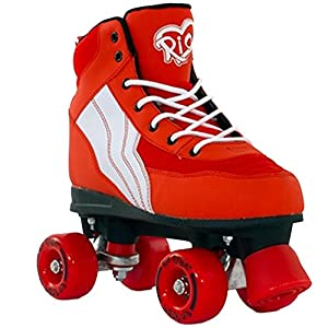 Rio Roller Pure - Quad-Rollerskates (red/white, 40.5)