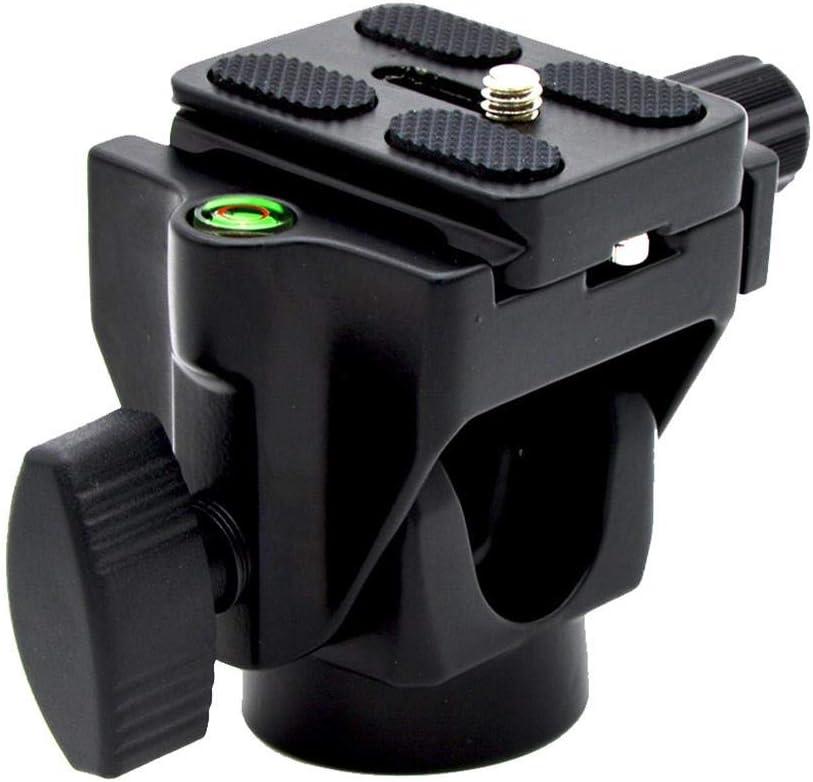 Stzonece Monopod Tilt Head Support /±90/° Tilt Movement,Tilt Head with Quick Release Plate