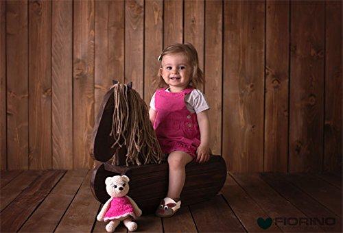 Fiorino piel–Patucos de zapatos de bebé lauflern–Zapatos de motivos en diferentes colores y Tamaños azul Fuchs Blau Talla:L flores
