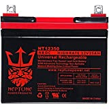 Neptune NT-12350 12V 35AH U1 Deep Cycle AGM Solar Battery Replaces 33Ah, 34Ah, 36Ah brand product