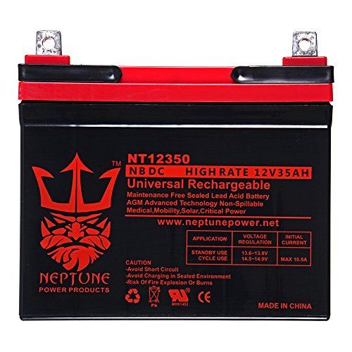 Yazoo Kees ZKW 42170 12V 35Ah SLA Replacement Lawn Mower Battery ()