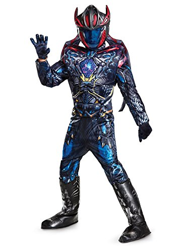 (Megazord Power Rangers Movie Prestige Costume, Medium (7-8))