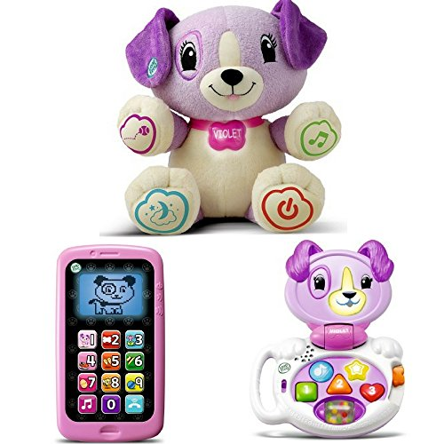 LeapFrog My Pal Violet, My Talking LapPup & Chat & Count Smart Phone, Best Leapfrog Toy
