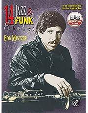 14 Jazz & Funk Etudes: E-Flat Instrument (Alto Sax, Baritone Sax) (Book & CD)