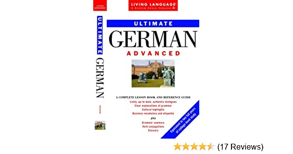 Amazon ultimate german advanced book ultimate advanced amazon ultimate german advanced book ultimate advanced 9780609802526 living language books fandeluxe