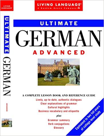 Amazon ultimate german advanced book ultimate advanced ultimate german advanced book ultimate advanced 1st edition fandeluxe Choice Image
