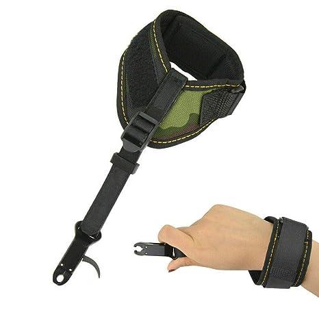 Right Hand Length Ajustable Arrow Release Trigger Caliper Wrist Buckle Bow Aids