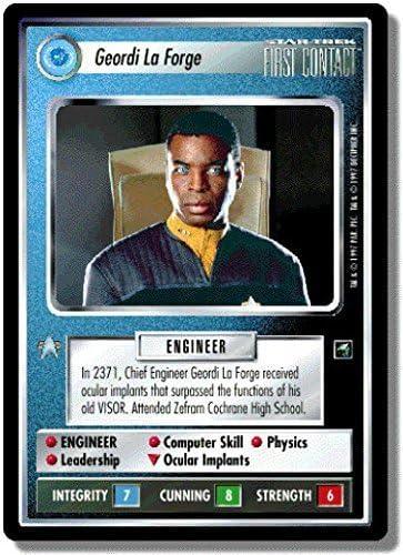 Star Trek CCG FC First Contact Solkar