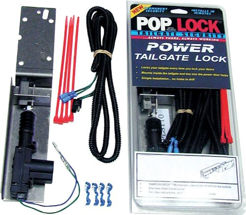 Pop & Lock PL8521 Power Tailgate Lock for - 2014 Tacoma Camper Shell