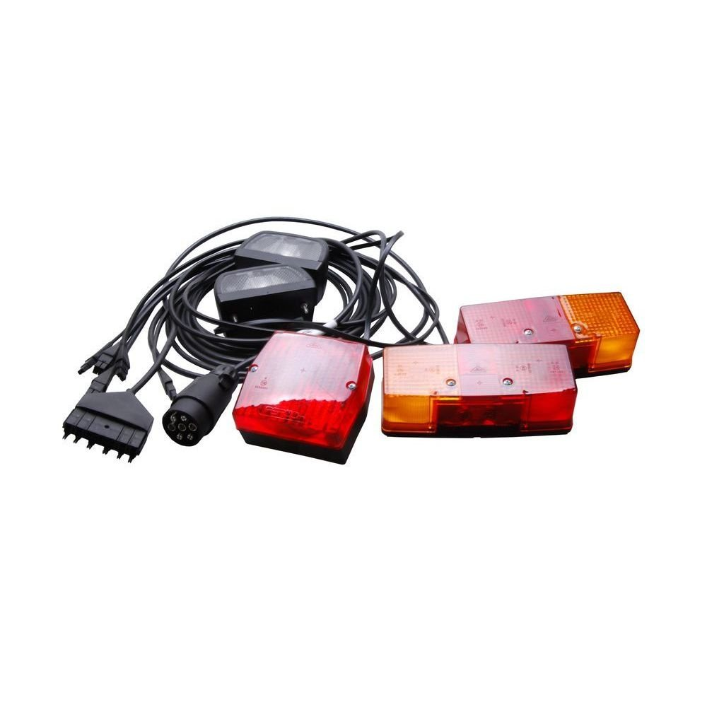 Bünte Stirnlampenzubehör Aspöck-Beleuchtungsanlage kp mit 2 x KZL. NSL, 66281