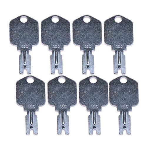 zt truck parts (8) For Clark Yale Hyster Komatsu Gradall Gehl Crown 166  Hyster Forklift Keys in USA