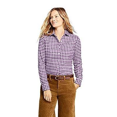 Lands' End Women's Petite Flannel Shirt